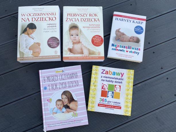 W oczekiwaniu na dziecko, Pierwszy rok życia dziecka, książki