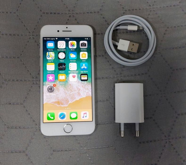 Apple iPhone 7 32Gb Silver. Идеальное состояние. Николаев - изображение 1