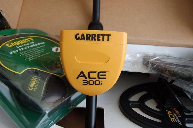 металлоискатель Garrett ACE 300i, металошукач