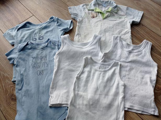 Body podkoszulki t-shirt 92/98