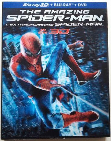 """Niesamowity Spider-man"" 3D / 2D 2xBlu-Ray + DVD Kanada bez PL"