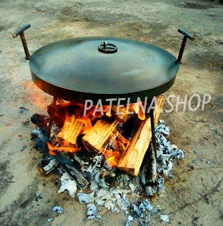 Сковорода 500 из диска бороны большая для дома дачи садж жаровня гриль