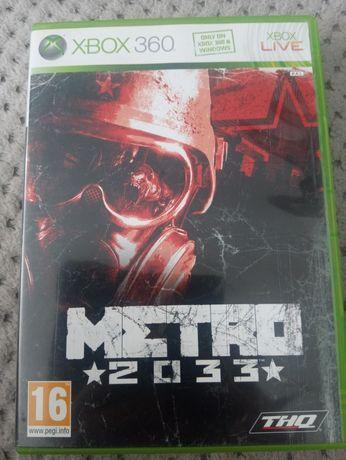 Gra Metro 2033 xbox 360 - używana