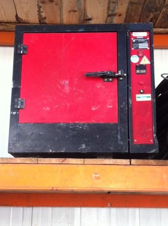 Maquina secar eléctrodos