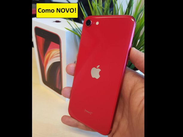 iPhone SE 2020 (2a geração) 64Gb Grade A desbloqueado como NOVO
