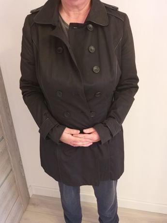 Orsay r.42/XL czarny płaszczyk plaszcz trencz