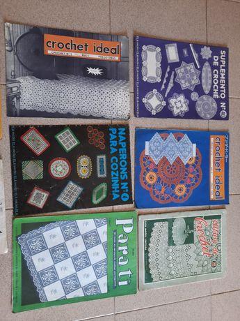 Revistas antigas crochet