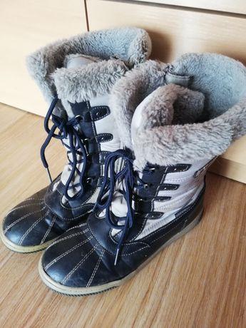 Śniegowce buty zimowe rozm 34