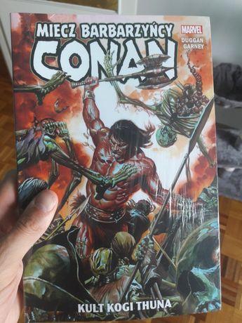 Miecz Barbarzyńcy. Conan - Kult Kogi Thuna - komiks nowy folia