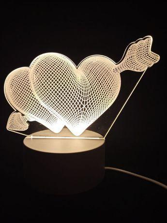 Lampka LED 3D | Dekoracyjna