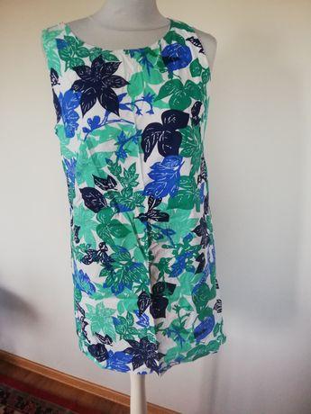 Sukienka letnia tunika papaya rozmiar m/l kwiaty boho