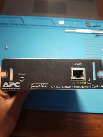 Плата сетевого управления ИБП AP9630