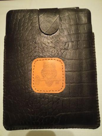 кожаный чехол для планшета