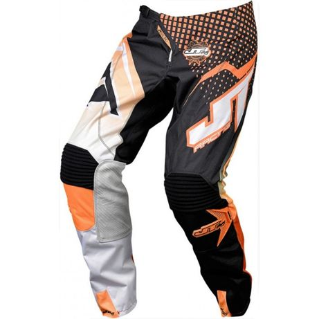 Spodnie Off-Road Enduro Cross JT Racing USA Hyperlite Voltage Orange