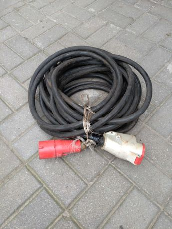 Kabel siłowy uzbrojony 32A, 20 metrow