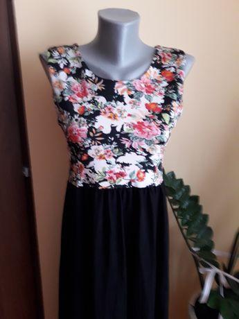 sukienka wizytowa długa 38