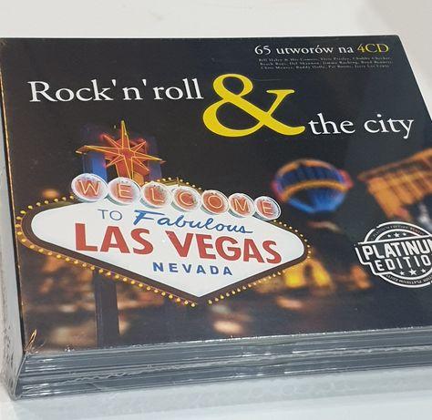 Rock'n'Roll & The City (4CD) platinum edition (Elvis, Turner, Berry)