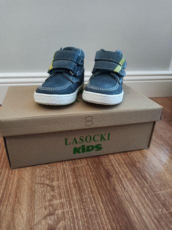 Jak nowe buciki Lasocki dla chłopca rozmiar 19 na rzepy