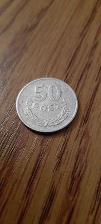 Sprzedam monetę 50 gr z okresu PRL.