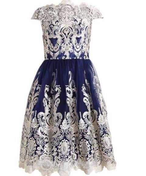 Piekna koktajlowa sukienka chi chi london r.38 /uk10, wesele Żołynia - image 1