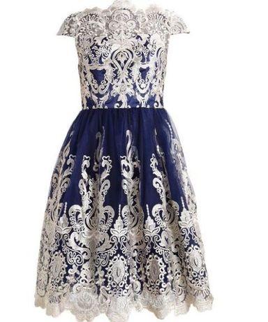 Piekna koktajlowa sukienka chi chi london r.38 /uk10, wesele