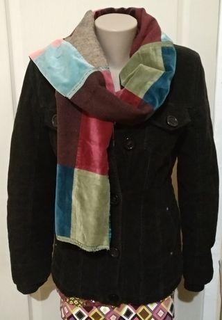 Утипленная вильветовая куртка