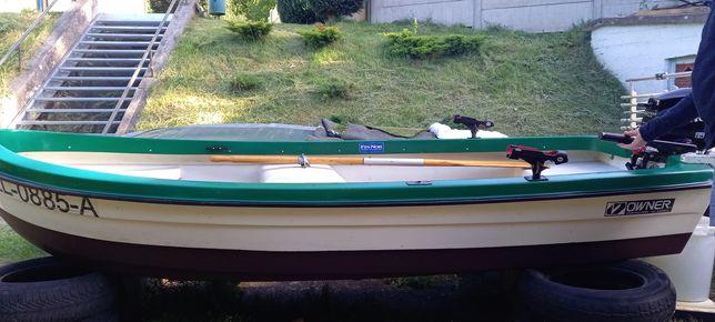 Łódka wędkarska motorowa 360