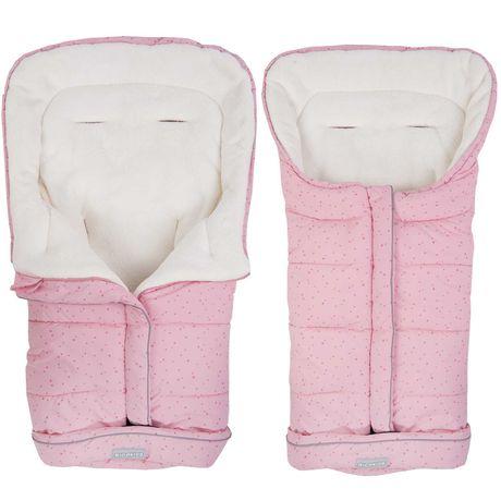 Śpiworek do wózka, sanek 96 x 45 cm Ricokids Drimi różowy
