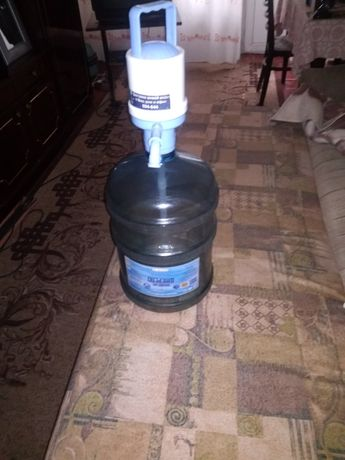 Бутыль для воды пластик