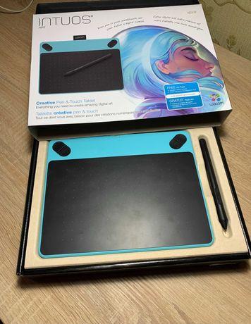 Графический планшет WACOM INTUOS ART BLUE PT S (CTH-490AB-N)