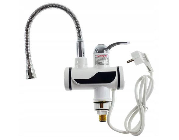 Elektryczny Przepływowy Podgrzewacz Wody LCD FLEX GIĘTKI WĄŻ