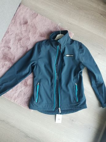 Bluza kurtka softshell granatowa M