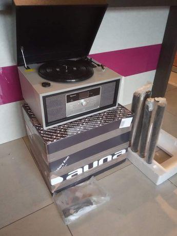 Gramofon Auna Mary Ann USB BT RADIO