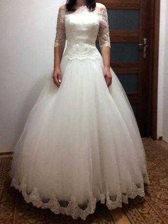 Suknia Ślubna, rozmiar 36, Księżniczka