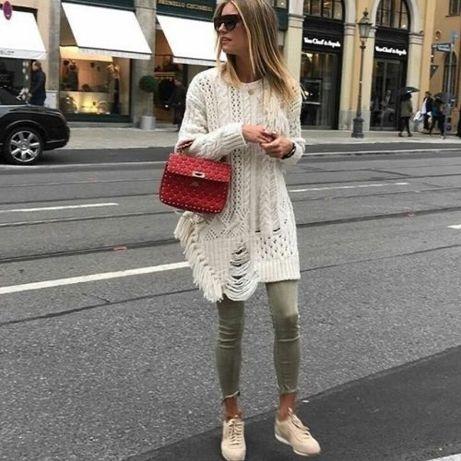 Przepiękny sweter zara style