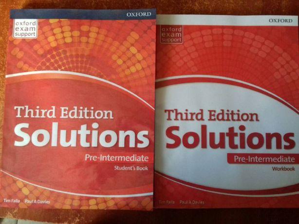 Solution (pre-intermediate) английский учебник и рабочая тетрадь