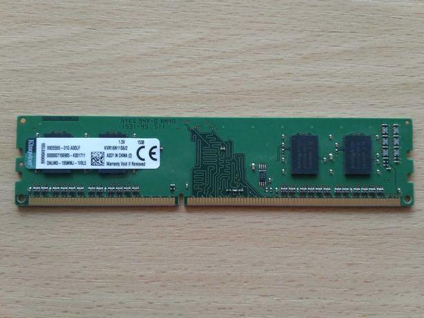 Оперативна пам'ять Kingston 2 GB DDR3 1600 MHz KVR16N11S6/2 для ПК
