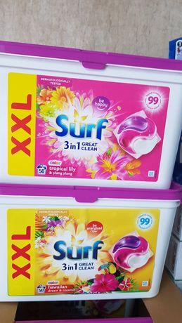 Surf 50шт капсули для стірки