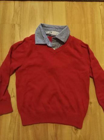 H&m świąteczny sweterek 2w1 r. 92/98