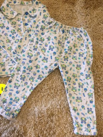 Тёплая пижама баечка 2 года (92-98 см)