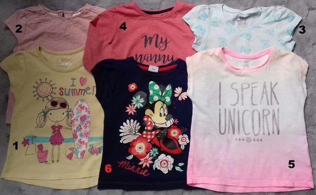 Bluzeczki-Tuniki-Sukienki-Wizytowe-Bolerka 18-24mc,2-3lata Minnie
