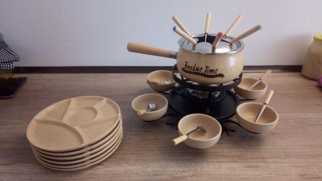 Zestaw fondue 6 osobowy