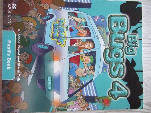 """Książka do j.angielskiego - """"Big Bugs 4"""" wydawnictwa Macmillan"""