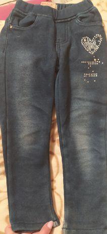 Теплые лосины под джинс