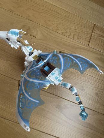 Lego elves королева драконов