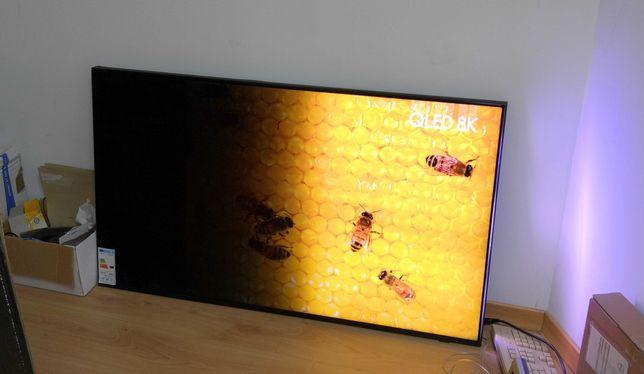 TV Samsung 8k QE55Q950R com ecran estragado + One Connect Box+ Comando