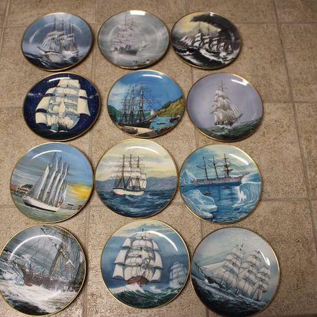 """Pratos - Colecção """" os últimos grandes veleiros"""""""