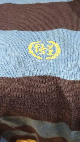 Bluza sweter męski, pasy, Fly53, rozmiar M
