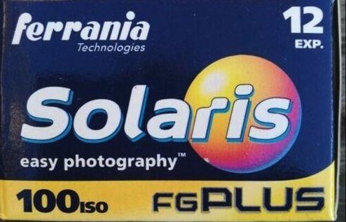 Ferrania Solaris FG Plus 100 expired film 35 film