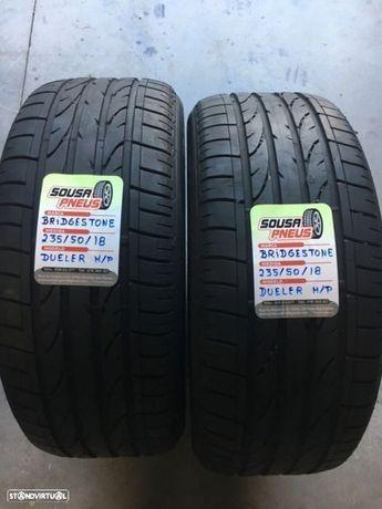 2 pneus semi novos bridgestone 235-50-18 Oferta dos portes